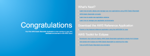 AWS Elastic Beanstalk Sample Application