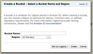 AWS Simple Storage Service First Bucket Setup
