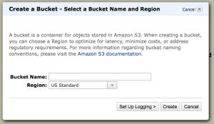 AWS Simple Storage Service First Bucket Setup