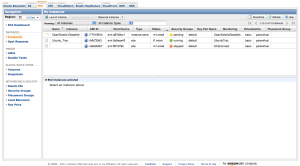 Amazon Web Services Management Console screen shot